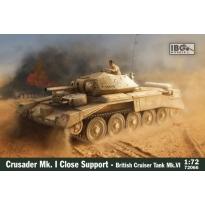 IBG 72066 Crusader Mk.I CS - British Close Support Tank (1:72)