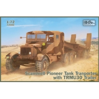 IBG 72080 Scammell Pioneer Tank Transporter with TRMU30 Trailer (1:72)