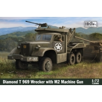 IBG 72085 Diamond T 969 Wrecker with M2 Machine gun and bonus PE set (1:72)
