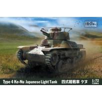 IBG 72091 Type 4 Ke-Nu Japanese Light Tank (1:72)