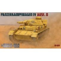 IBG WAW009 World At War Panzerkampfwagen IV Ausf.D (1:76)