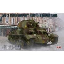 IBG WAW012 World At War A9 CS Close Support British Cruiser Tank (1:72)