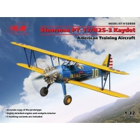 Stearman PT-17/N2S-3 Kaydet , American Training Aircraft (1:32)