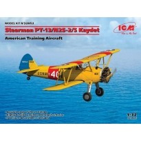 Stearman PT-13/N2S-2/5 Kaydet, American Training Aircraft (1:32)