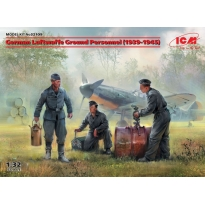 German Luftwaffe Ground Personnel (1939-1945) (3 figures) (1:32)