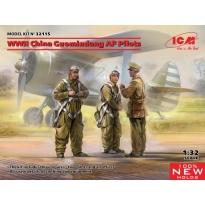 WWII China Guomindang AF Pilots (1:32)