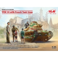 FCM 36 with French Tank Crew (1:35)