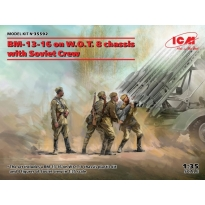 BM-13-16 on W.O.T. 8 chassis with Soviet Crew (1:35)
