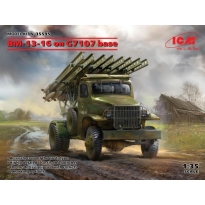 BM-13-16 on G7107 base (1:35)