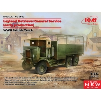 Leyland Retriever General Service (early production), WWII British Truck (1:35)