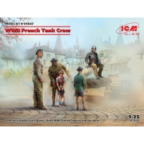 WWII French Tank Crew (4 figures) (1:35)