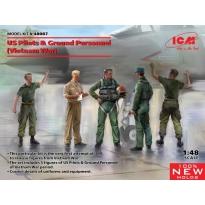 US Pilots & Ground Personnel (Vietnam War) (5 figures) (1:48)