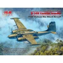B-26K Counter Invader USAF Vietnam War Attack Aircraft (1:48)