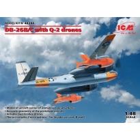 DB-26B/C with Q-2 drones (1:48)