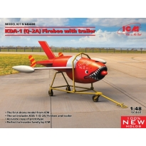 Q-2A (KDA-1) Firebee with trailer (1 airplane and trailer) (1:72)