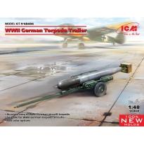 WWII German Torpedo Trailer (1:48)