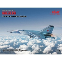 MiG-25 PD, Soviet Interceptor Fighter (1:72)