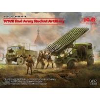 WWII Red Army Rocket Artillery W.O.T 6,BM13-16,RKKA Drivers (1:35)