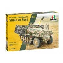 Sd. Kfz. 251/1 Wurfrahmen Stuka zu Fuss (1:72)