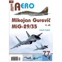 Jakab Aero Mikojan Gurevič MiG-29/35 2.díl