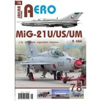 Jakab Aero MiG-21U,US,UM v čs. a českém letectvu 2.díl