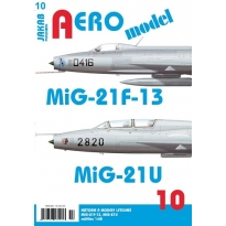 Jakab Aero Model MiG-21F-13 a MiG-21U