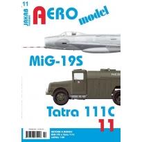 Jakab Aero Model MiG-19S a Tatra 111C