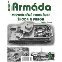 Jakab Armada Meziválečné obrněnce Škoda a Praga