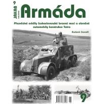 Jakab Armada Přezvědné oddíly československé branné moci a obrněné automobily konstrukce Tatra