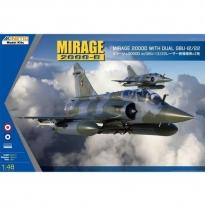 Mirage 2000D with dual GBU-12/22 (1:48)