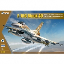 F-16C Block 40 Barak Israeli Air Force (1:48)