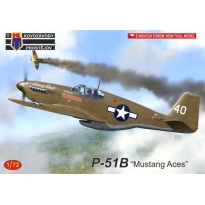"""P-51B """"Mustang Aces"""" 1:72)"""