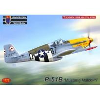 "P-51B ""Mustang"" Malcolm""(1:72)"