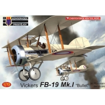 """Vickers FB-19 Mk.I """"Bullet"""" In Russian services (1:72)"""
