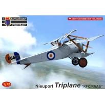 """Nieuport Triplane """"RFC/RNAS"""" (1:72)"""