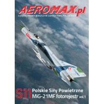 Aeromax nr specjalny 11 MiG-21MF fotorejestr vol.1