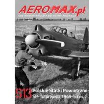 Aeromax nr specjalny 13 Polskie statki powietrzne SP- 1949-53 fotorejestr vol.2