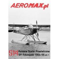 Aeromax nr specjalny 14 Polskie statki powietrzne SP- 1954-56 fotorejestr vol.1