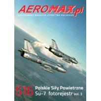 Aeromax nr specjalny 16 Su-7 fotorejestr vol.3