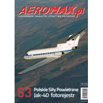 Aeromax nr specjalny 3 Jak-40 fotorejestr