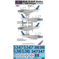 N.A. F-86F Sabre Over Portugal Part I. (1:32)