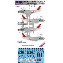 N.A. F-86F Sabre Over Portugal Part II. (1:32)
