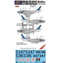 N.A. F-86F Sabre Over Portugal Part I. (1:72)