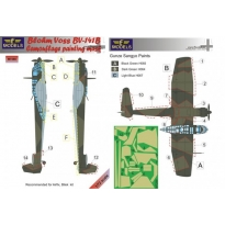 Blohm Voss BV 141B Camouflage Painting Mask (1:72)