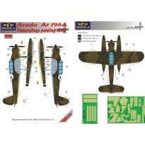 Arado Ar 196A Camouflage Painting Mask (1:72)