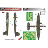Heinkel He 177A-3 Greif Camouflage Painting Mask (1:72)