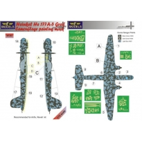 Heinkel He 177A-5 Greif Camouflage Painting Mask (1:72)