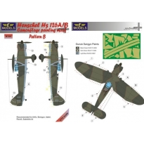 Henschel Hs 126A/B Pattern B Camouflage Painting Mask (1:72)