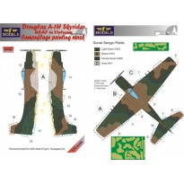 A-1H USAF in Vietnam Camouflage Painting mask (1:72)