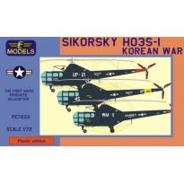 Sikorsky HO3S-1 Korean war (1:72)